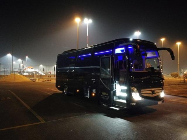bus rental italy